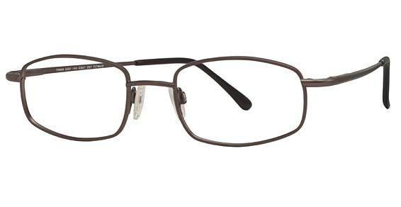 Titanium Rectangle Prescription Safety Glasses TITMUS EXT 9 | Eyeweb